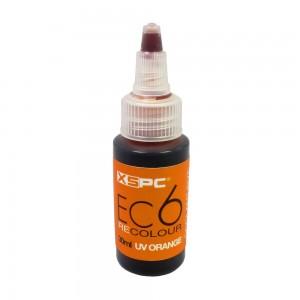 XSPC EC6 ReColour Dye, UV Orange - 30ml (5060175589415)