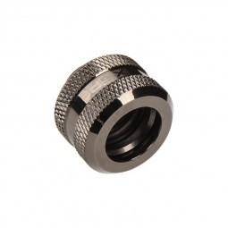XSPC G1/4 - 14mm HardTube Black Chrome (5060175589262)
