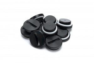 EK-PLUG G1/4 Acetal - fekete záródugók (10 pack) (3830046995735)