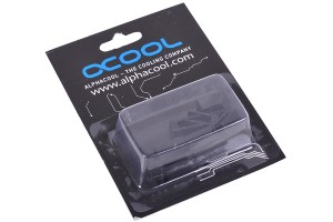 Alphacool GPU RAM alumínium heatsink 7x7mm - fekete 10 db