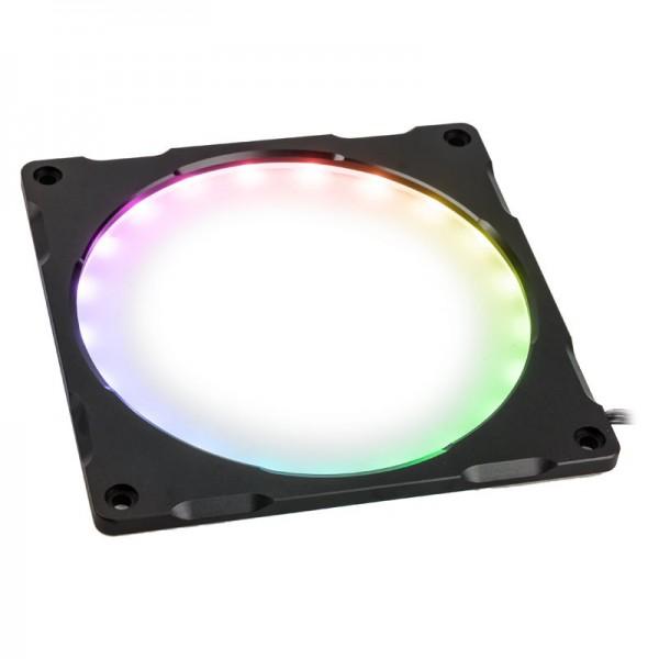 PHANTEKS Halos Lux Digital 120mm-keret, Digital-RGB - Alu, fekete (PH-FF120DRGBA_BK01)