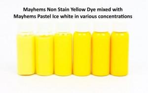 Mayhems Non Stain Dye Yelllow 15ml /MNSYD15ML/