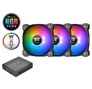 Thermaltake Pure Plus 12 RGB Radiator Fan TT Premium Edition 3-pakk (CL-F063-PL12SW-A)