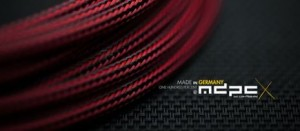 MDPC-X Sleeve Small Red Carbon 1m (SL-S-IRB)