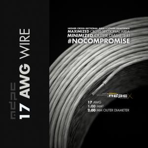 MDPC-X Kábelköteg 17-AWG Átlátszó, 1m (WI-17AWG-TX)