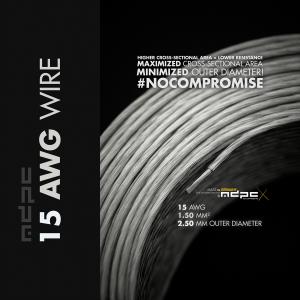 MDPC-X Kábelköteg 15-AWG Átlátszó, 1m (WI-15AWG-TX)