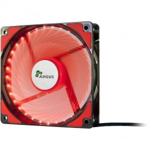 Inter-Tech ARGUS L-12025 RD, Piros LED /88885413/