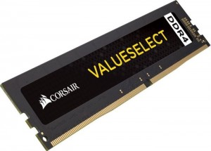 Corsair ValueSelect DIMM 8GB, DDR4-2666, CL18-18-18-43 (CMV8GX4M1A2666C18)