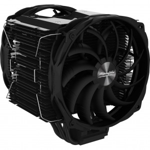 Alpenföhn Brocken 3 Black Edition CPU hűtő - 2x140mm (84000000154)