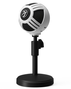 Arozzi Microphone Sfera - White - SFERA-WHITE