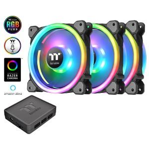 Thermaltake Riing Trio 14 LED RGB (3db) TT Prem. retail - CL-F077-PL14SW-A