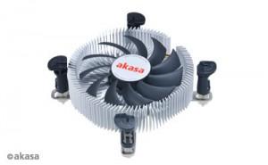 Akasa AK-CC7122EP01 Low Noise ITX 775 / 115X 80mm Processzor hûtõ /AK-CC7122EP01/