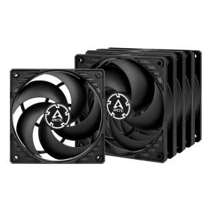 Arctic P12 PWM PST Value Pack 5db  (Black/Black) (ACFAN00137A)