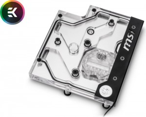 EK Water Blocks EK-FB MSI X470 Pro Carbon RGB Monoblock - Nickel(3830046998194)