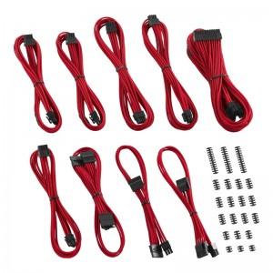 CableMod Classic ModMesh RT-Series Cable Kit ASUS ROG / Seasonic - piros (CM-RTS-CKIT-NKR-R)