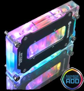 Raijintek CWB TR4-RBW RGB CPU blokk Sockel TR4 (0R40B00084)