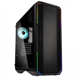 BitFenix Enso Mesh RGB Midi-Tower, Tempered Glass - fekete (BFC-ESM-150-KKWGK-RP)
