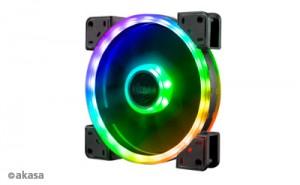 Akasa Vegas TLY Addressable-RGB ventilátor - 140mm (AK-FN103)