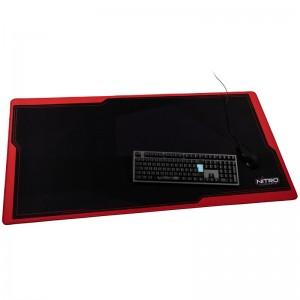 Nitro Concepts Deskmat DM12, 1200x600mm - fekete/piros (NC-GP-MP-004)