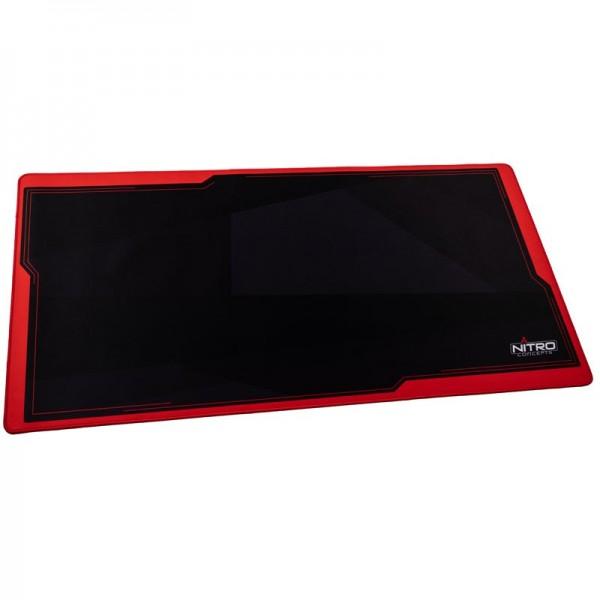 Nitro Concepts Deskmat DM16, 1600x800mm - piros/fekete (NC-GP-MP-006)