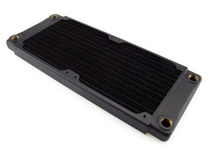 XSPC TX240 Crossflow Ultrathin Radiator - 240mm (5060596650602)