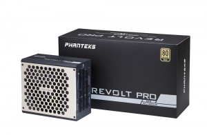 PHANTEKS Revolt Pro 80+ Gold moduláris, Power Combo - 850 watt (PH-P850GC)