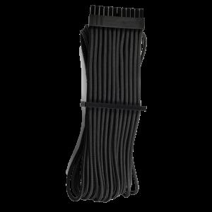 Corsair Premium Sleeved 24-Pin-ATX Typ 4 Gen 4 kábel -  fekete (CP-8920229)