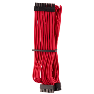 Corsair Premium Sleeved 24-Pin-ATX Typ 4 Gen 4 kábel - piros (CP-8920230)