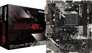 ASRock B450M-HDV R4.0 (90-MXB9N0-A0UAYZ)