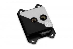 EKWB EK-Velocity Strike RGB - Matte Black + Silver (3831109814611)