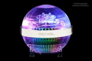 Alphacool Eisball Digital RGB - Plexi (VPP755 V.3 szivattyúval együtt) /13324