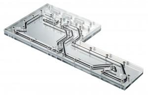 PHANTEKS Glacier D140 Distro Plate - Acryl, tükrös, DRGB-LED (PH-D140_01)