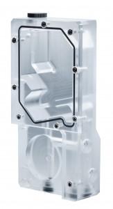 PHANTEKS  R160C tartály - átlátszó akril hátlap, DRGB LED (PH-R160C_02)