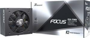 Seasonic Focus PX 80 Plus Platinum, moduláris 750 Watt(FOCUS-PX-750)