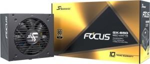 Seasonic Focus GX 80 Plus Gold, moduláris - 650 Watt (FOCUS-GX-650)