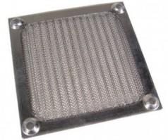 Aluminium ventilátor szűrő 120mm - ezüst (FFM-120-S)