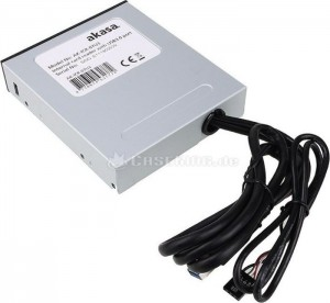 Akasa AK-ICR-07 Internal 6-Port Card Reader 3,5 with USB 3.0 - b(AK-ICR-07U3)