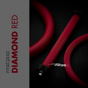 MDPC-X Sleeve BIG - Diamond-Red, 1m (SL-B-DR)
