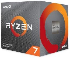 AMD Ryzen 7 3800X 3.9GHz AM4 Processzor BOX Wraith Prism RGB hûtõ /100-100000025BOX/