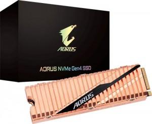 Gigabyte Aorus NVMe SSD, PCIe 4.0 M.2 Typ 2280 - 2TB (GP-ASM2NE6200TTTD)
