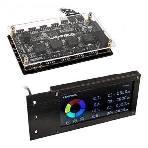 Lamptron SM436 Sync Edition PCI RGB ventilátor és LED vezérlő - fekete (LAMP-CA410B)