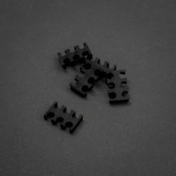 King Mod 6-Pin Kábelfésû 5db-os Fekete 3mm /ZUUV-174/