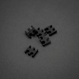 King Mod 4-Pin Kábelfésû 5db-os Fekete 3mm /ZUUV-159/