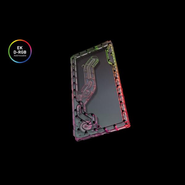 EKWB EK-Classic Distro Plate Front PC-O11D D-RGB + SPC PWM (3831109821855)