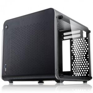 Raijintek METIS EVO TG Mini-ITX, Tempered Glass - ezüst (0R20B00161)