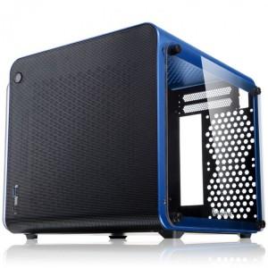 Raijintek METIS EVO TG Mini-ITX, Tempered Glass - kék (0R20B00163)