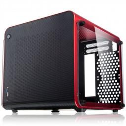 Raijintek METIS EVO TG Mini-ITX, Tempered Glass - piros (0R20B00164)