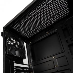Kolink Refine RGB Midi-Tower, Tempered Glass - fekete (REFINE)