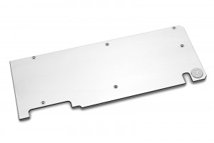 EKWB EK-Quantum Vector Dual Evo RTX 2070/2080 Backplate - Nickel (3831109819708)