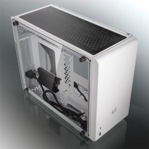 Raijintek Ophion EVO Mini-ITX, Tempered Glass - fehér (0R20B00151)
